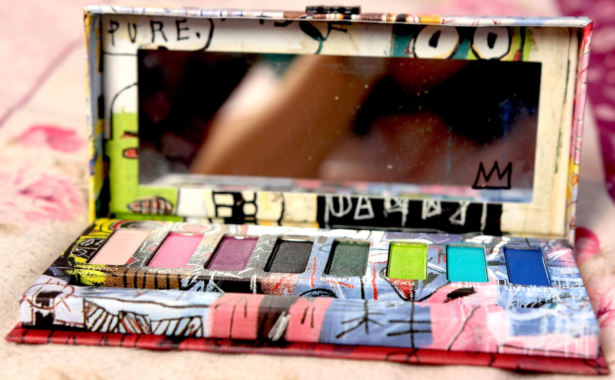 The New Urban Decay Jean-Michel Basquiat Eyeshadow Palette (Tenant) |NinkComPoop